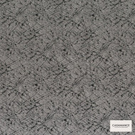 Casamance Fabrics & Wallpapers - Pleiade 3605 3605 01 45  | Curtain & Upholstery fabric - Black, Charcoal, Oeko-Tex, Fibre Blend, Standard Width