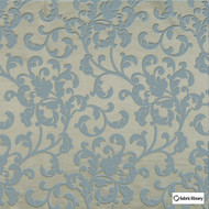 Fabric Library - Energy Kelp  | Curtain & Upholstery fabric - Blue, Damask, Fibre Blends, Commercial Use, Domestic Use, Oeko-Tex,  Standard Width