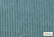 Fr One Fabrics - Valhalla Fr Duckegg  | Curtain & Upholstery fabric - Fire Retardant, Blue, Stripe, Railroaded, Oeko-Tex, Standard Width