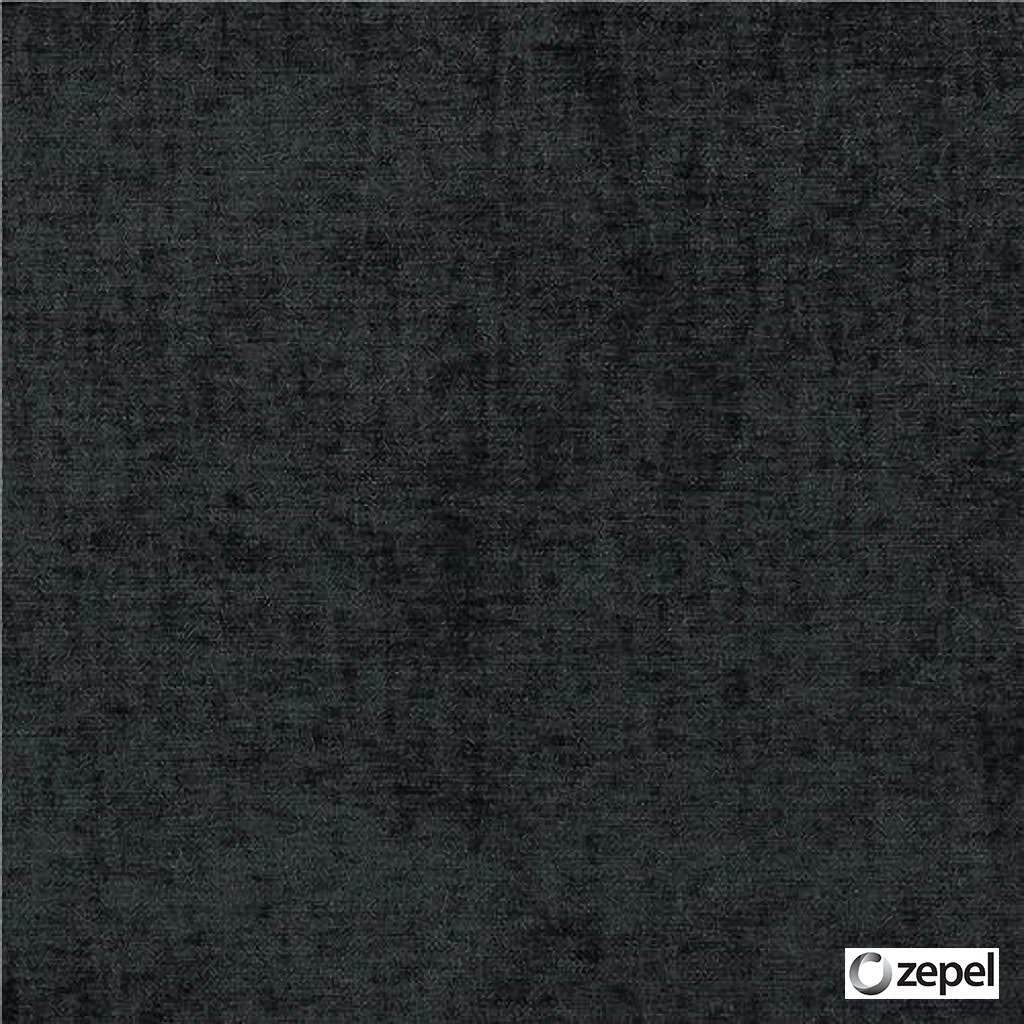 Zepel Fabrics - Super Caviar  | Upholstery Fabric - Plain, Black - Charcoal, Synthetic, Commercial Use, Domestic Use, Oeko-Tex,  Standard Width