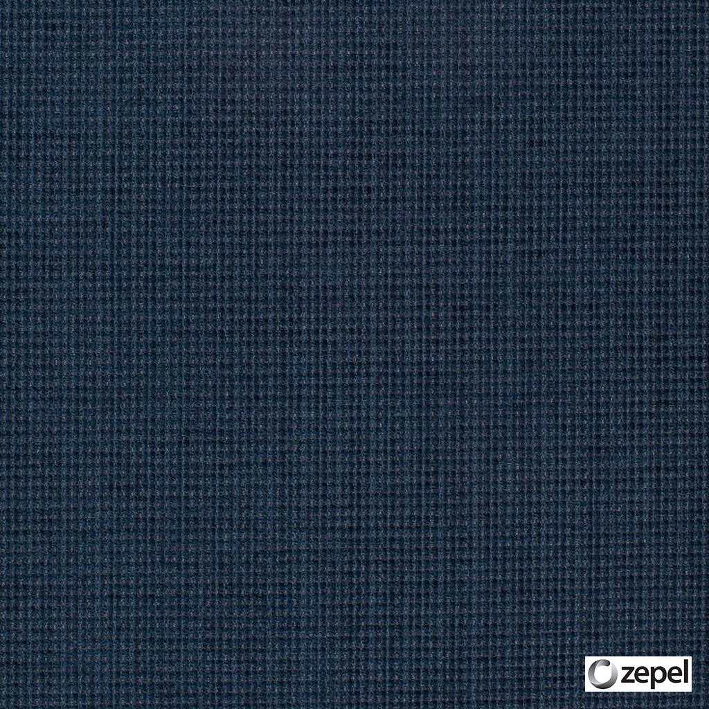 Zepel Fabrics - Arouse Navy  | Upholstery Fabric - Blue, Plain, Synthetic, Commercial Use, Oeko-Tex,  Standard Width