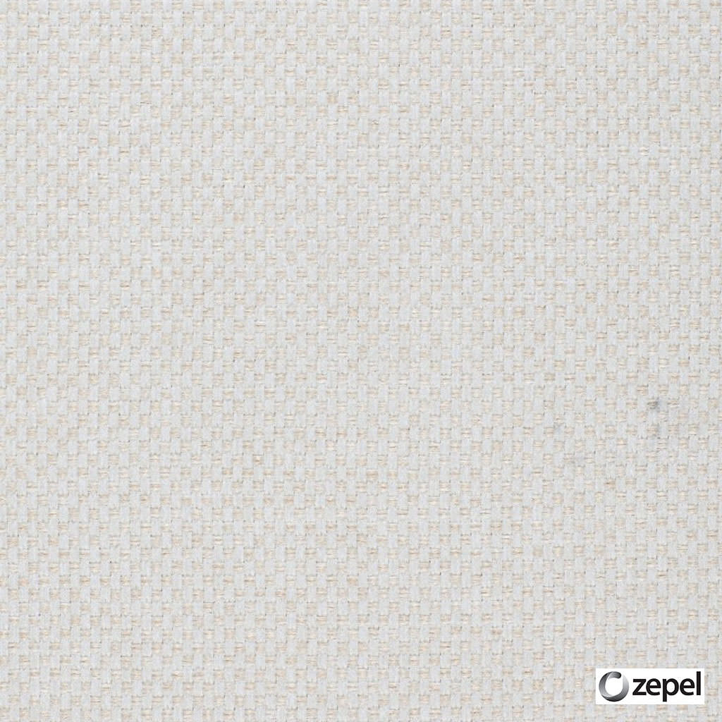 Zepel Fabrics - Create Nougat  | Upholstery Fabric - Plain, White, Synthetic, Commercial Use, Oeko-Tex, White, Standard Width
