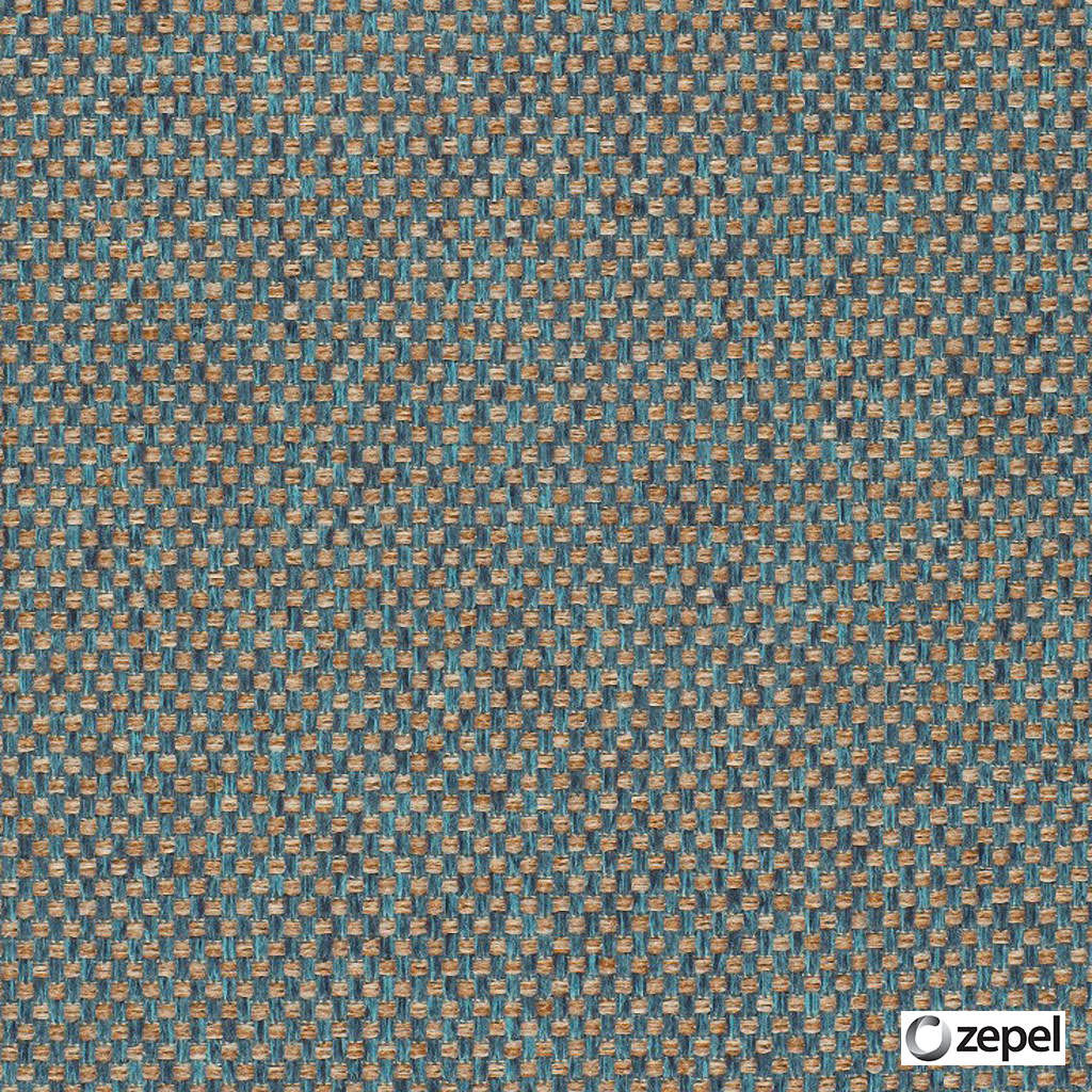 Zepel Fabrics - Create Capri  | Upholstery Fabric - Blue, Plain, Synthetic, Commercial Use, Oeko-Tex,  Standard Width