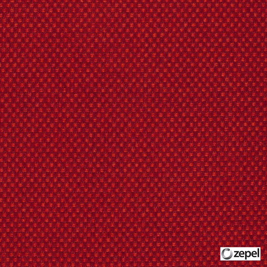 Zepel Fabrics - Create Fire  | Upholstery Fabric - Plain, Red, Synthetic, Commercial Use, Oeko-Tex,  Standard Width