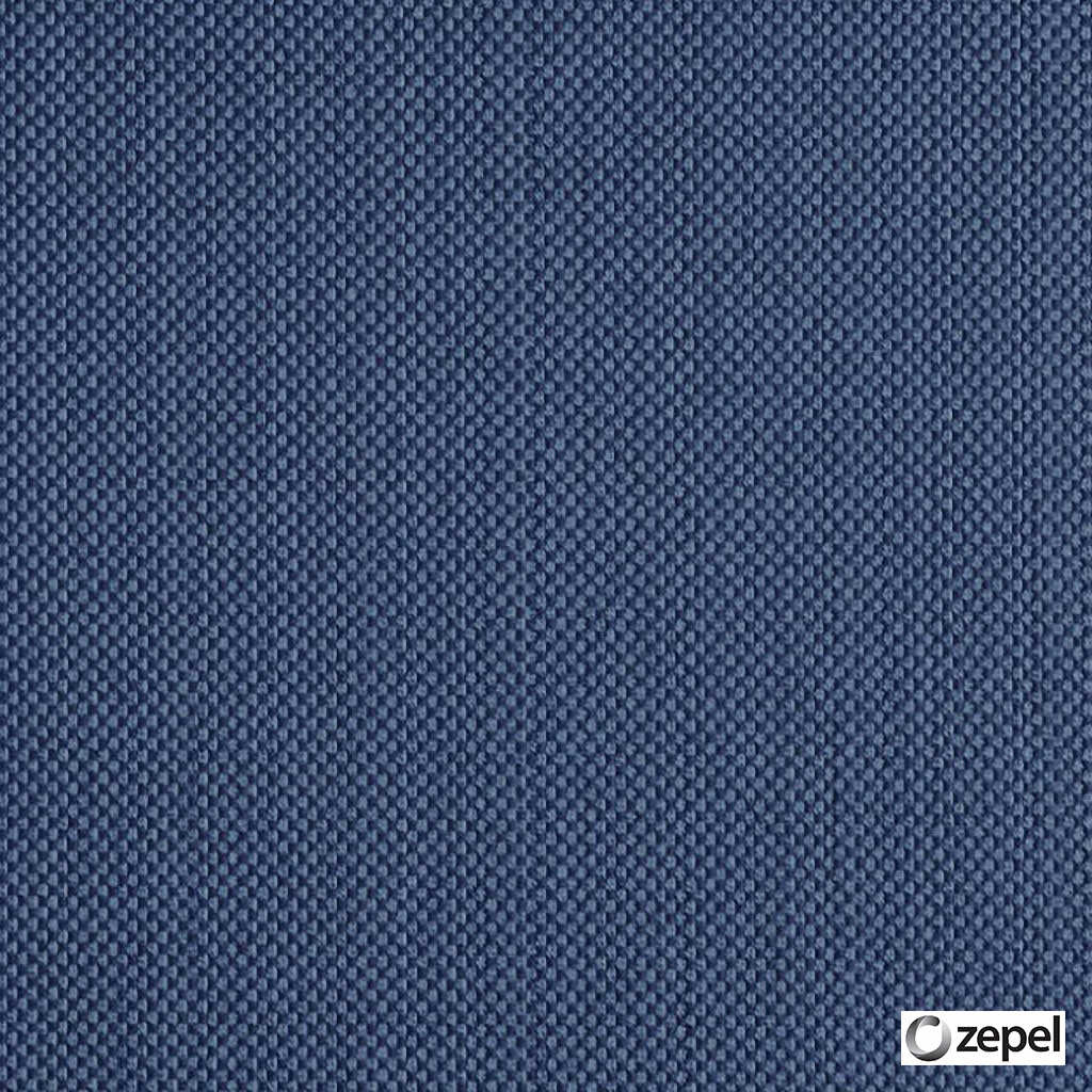 Zepel Fabrics - Generate Midnight  | Upholstery Fabric - Blue, Plain, Synthetic, Commercial Use, Oeko-Tex,  Standard Width