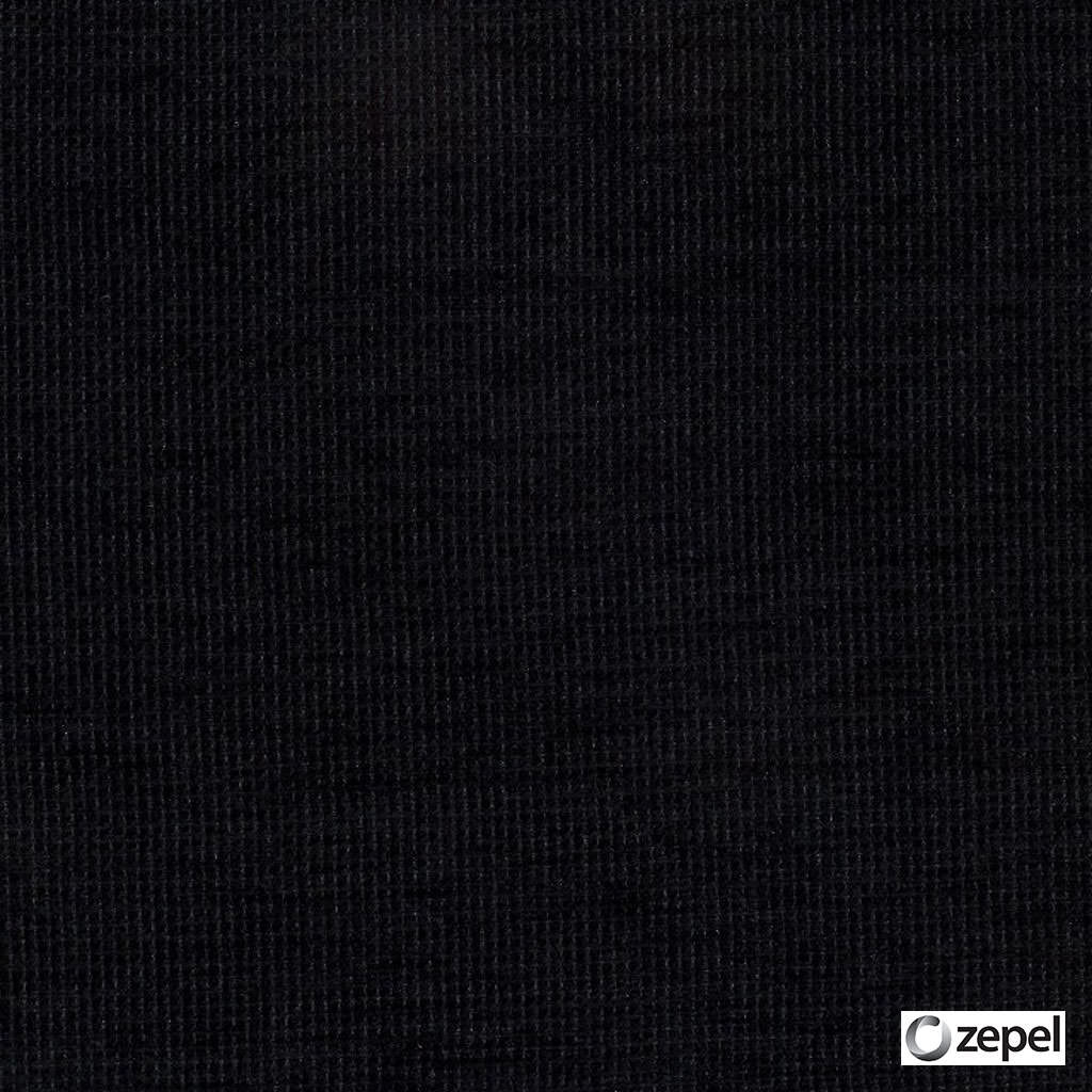 Zepel Fabrics - Impulse Onyx  | Upholstery Fabric - Plain, Black - Charcoal, Synthetic, Commercial Use, Domestic Use, Oeko-Tex,  Standard Width