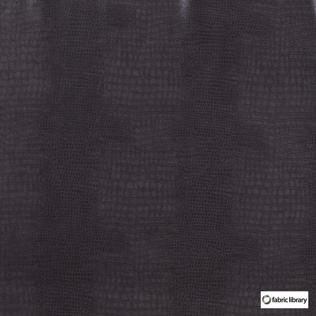 Fabric Library - Pat Phantom  | Upholstery Fabric - Black, Charcoal, Water Repellent, Standard Width