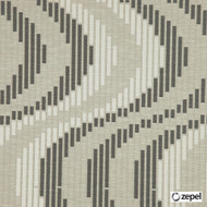 Zepel Fabrics - Cue Charcoal  | Curtain & Upholstery fabric - Fibre Blends, Midcentury, Commercial Use, Domestic Use, Oeko-Tex, Standard Width