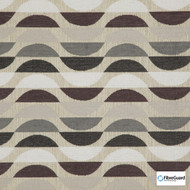Fibreguard - Ocean Drive Marble  | Upholstery Fabric - Brown, Geometric, Midcentury, Stripe, Synthetic, Commercial Use, Standard Width
