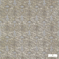 Zoffany Tespi 332162  | Curtain & Upholstery fabric - Brown, Art Noveau, Craftsman, Damask, Eclectic, Fibre Blends, Traditional, Transitional, Domestic Use, Semi-Plain