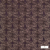 Zoffany Tespi 332164  | Curtain & Upholstery fabric - Art Noveau, Craftsman, Damask, Eclectic, Fibre Blends, Pink, Purple, Traditional, Domestic Use, Semi-Plain