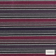 Casamance Fabrics & Wallpapers - Porto - Vecchio 3226 03 52  | Curtain & Upholstery fabric - Burgundy, Stripe, Synthetic, Commercial Use, Standard Width