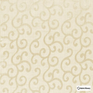 Fabric Library - Alegria Whitecap  | Curtain & Upholstery fabric - Beige, Scroll, Fibre Blend, Standard Width