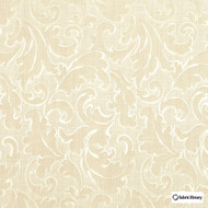 Fabric Library - Ambiente Whitecap  | Curtain & Upholstery fabric - Beige, Floral, Garden, Botantical, Traditional, Art Nouveau, Rococo, Fibre Blend