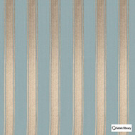 Fabric Library - Mundo Lead  | Curtain & Upholstery fabric - Blue, Stripe, Fibre Blend, Standard Width