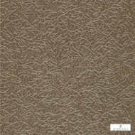 Zoffany Ribbon Coral 312133  | Wallpaper, Wallcovering - Brown, Organic, Transitional, Domestic Use