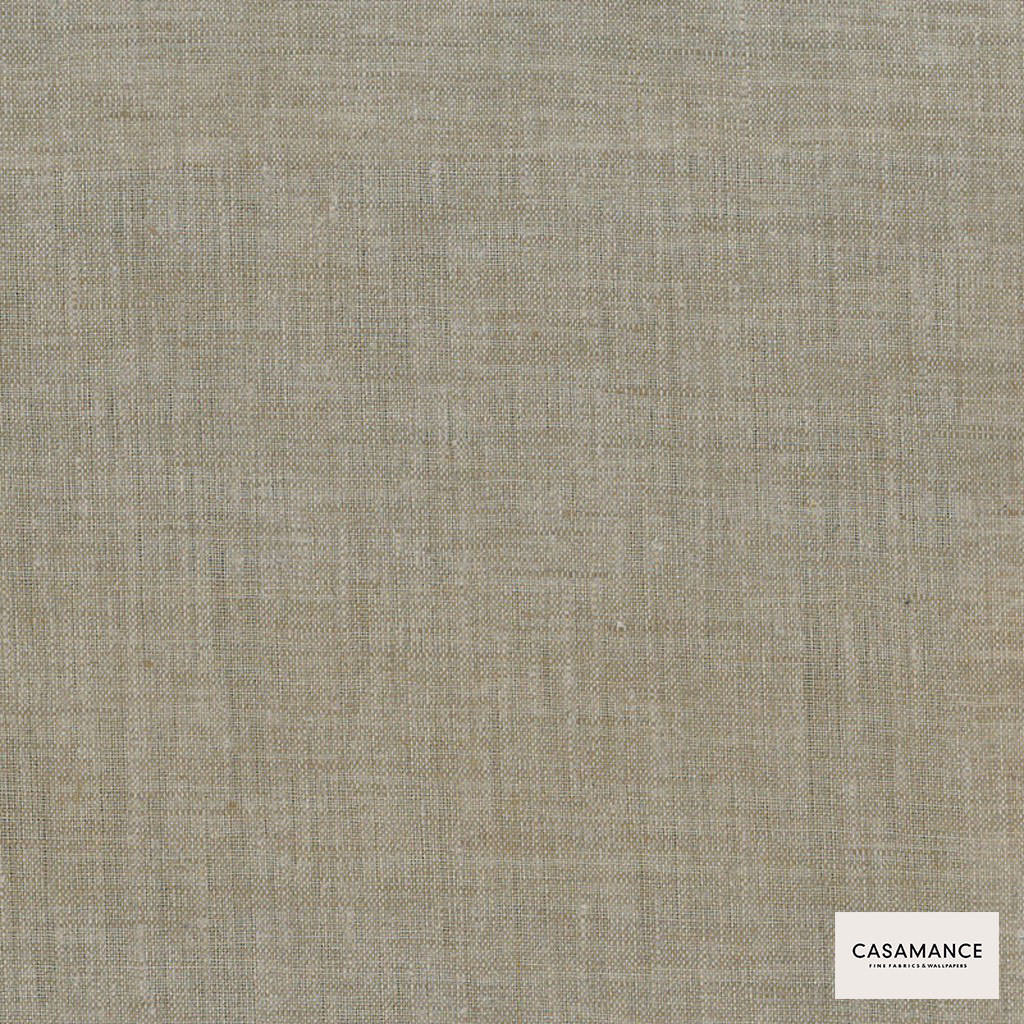 Casamance Fabrics & Wallpapers - Integral 285 3107 08 71    Curtain & Upholstery fabric - Beige, Plain, Natural Fibre, Commercial Use, Domestic Use, Natural, Wide Width