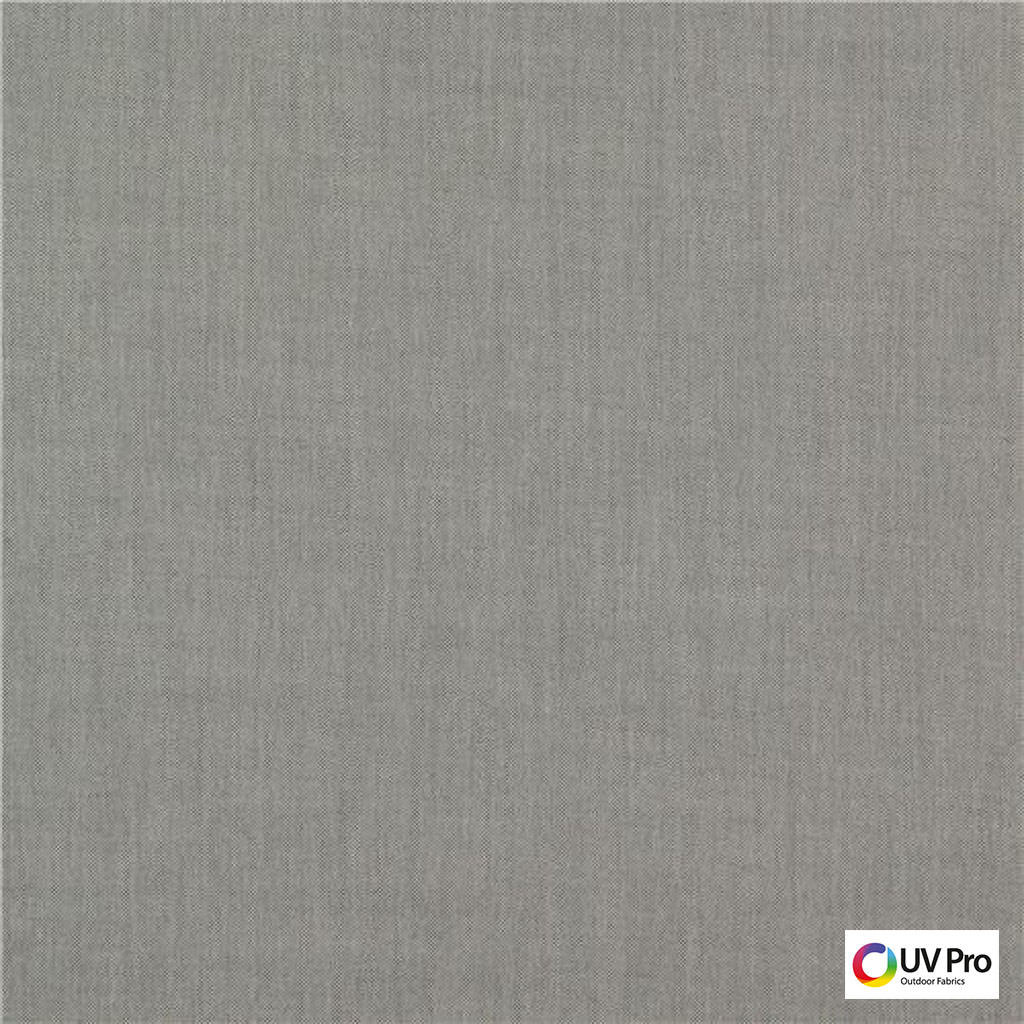 Uv Pro Fabrics - Private Limestone  | Curtain & Upholstery fabric - Grey, Plain, Outdoor Use, Synthetic, Commercial Use, Domestic Use, Oeko-Tex,  Standard Width