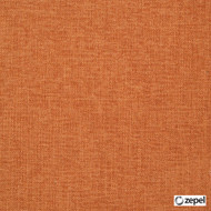 Zepel Fabrics - Bronco Tangerine  | Upholstery Fabric - Plain, Fibre Blends, Commercial Use, Oeko-Tex,  Standard Width, Strie