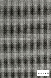 Mokum Esplanade - Zinc  | Upholstery Fabric - Fire Retardant, Black - Charcoal, Fibre Blends, Outdoor Use, Transitional, Washable, Commercial Use, Standard Width