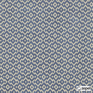 Zepel Fabrics - Andes Sapphire  | Upholstery Fabric - Blue, Diaper, Fibre Blends, Geometric, Commercial Use, Diamond - Harlequin, Domestic Use, Oeko-Tex,  Railroaded