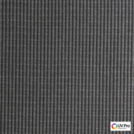 Uv Pro Fabrics - Break Chinchilla  | Curtain & Upholstery fabric - Black - Charcoal, Outdoor Use, Stripe, Synthetic, Commercial Use, Oeko-Tex,  Standard Width