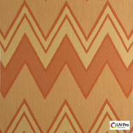Uv Pro Fabrics - Interior Copper  | Curtain & Upholstery fabric - Geometric, Outdoor Use, Synthetic, Chevron, Zig Zag, Commercial Use, Oeko-Tex,  Standard Width