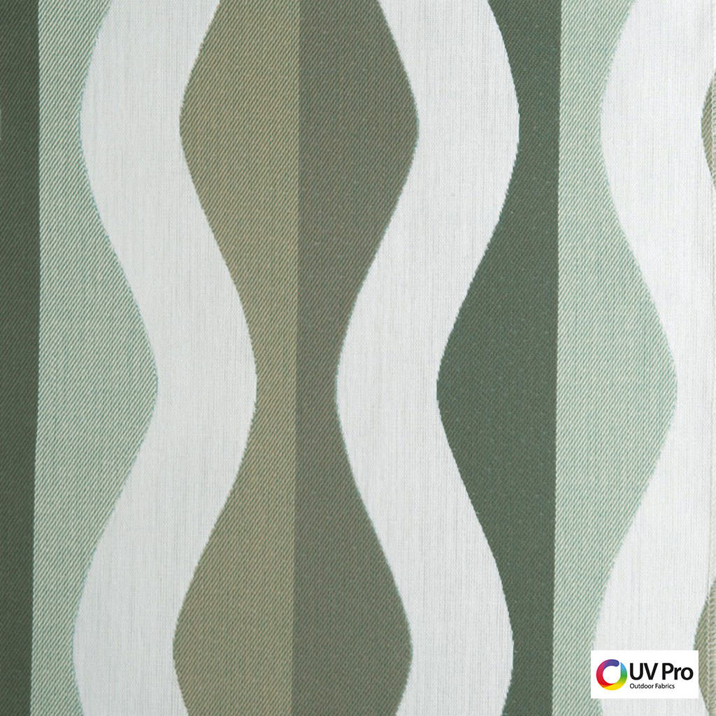 Uv Pro Fabrics - Progress Jadeite  | Curtain & Upholstery fabric - Midcentury, Outdoor Use, Synthetic, Commercial Use, Oeko-Tex,  Standard Width