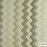 Uv Pro Fabrics - Rising Willow  | Curtain & Upholstery fabric - Brown, Geometric, Midcentury, Outdoor Use, Synthetic, Chevron, Zig Zag, Commercial Use, Oeko-Tex