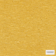 Casamance Fabrics & Wallpapers - Capim Plain Wallpaper 7350 7350 06 50  | Wallpaper, Wallcovering - Gold,  Yellow, Plain, Fibre Blends, Commercial Use, Domestic Use, Oeko-Tex