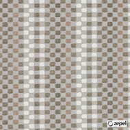 Zepel Fabrics - Connections Mineral  | Upholstery Fabric - Beige, Contemporary, Fibre Blends, Geometric, Small Scale, Commercial Use, Dots, Spots, Oeko-Tex, Railroaded