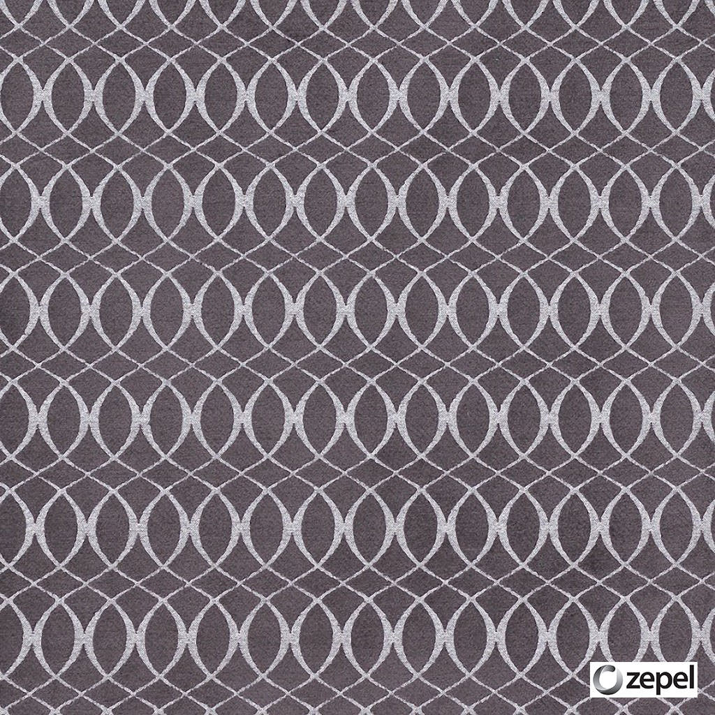 Zepel Fabrics - Meander Mulberry  | Curtain & Upholstery fabric - Fibre Blends, Geometric, Ogee, Pink, Purple, Commercial Use, Domestic Use, Oeko-Tex,  Standard Width