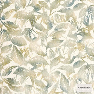 Casamance Fabrics & Wallpapers - Effervescence Profusion 7256 7256 03 47  | Wallpaper, Wallcovering - Gold,  Yellow, Floral, Garden, Natural Fibre, Commercial Use, Natural