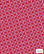 Casamance Fabrics & Wallpapers - Hibana 3577 3577 03 59  | Curtain & Upholstery fabric - Red, Check, Geometric, Synthetic, Commercial Use, Domestic Use, Oeko-Tex