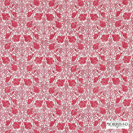 Morris and Co - Grapevine 224477  | Curtain & Upholstery fabric - Red, Craftsman, Damask, Fibre Blends, Floral, Garden, Traditional, Domestic Use, Standard Width