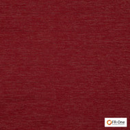 Fr One Fabrics - Geraint Fr Ruby  | Curtain & Upholstery fabric - Fire Retardant, Red, Synthetic, Commercial Use, Domestic Use, Jacquards, Oeko-Tex,  Standard Width