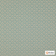 Fr One Fabrics - Grail Fr Mineral  | Curtain & Upholstery fabric - Fire Retardant, Diaper, Ogee, Small Scale, Synthetic, Commercial Use, Domestic Use, Jacquards, Oeko-Tex