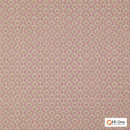 Fr One Fabrics - Grail Fr Fuchsia  | Curtain & Upholstery fabric - Fire Retardant, Red, Diaper, Ogee, Small Scale, Synthetic, Commercial Use, Domestic Use, Jacquards, Oeko-Tex
