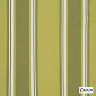 Uv Pro Fabrics - Bermuda Pesto  | Curtain & Upholstery fabric - Outdoor Use, Stripe, Synthetic, Traditional, Commercial Use, Oeko-Tex,  Standard Width