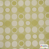 Uv Pro Fabrics - Fjord Linden  | Curtain & Upholstery fabric - Geometric, Outdoor Use, Synthetic, Commercial Use, Dots, Spots, Oeko-Tex,  Standard Width, Circles