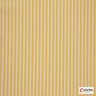 Uv Pro Fabrics - Picnic Nugget  | Curtain & Upholstery fabric - Gold,  Yellow, Outdoor Use, Stripe, Synthetic, Traditional, Commercial Use, Oeko-Tex,  Standard Width