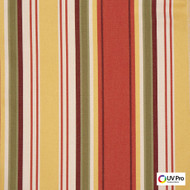 Uv Pro Fabrics - Reef Arabesque  | Curtain & Upholstery fabric - Multi-Coloured, Outdoor Use, Stripe, Synthetic, Traditional, Commercial Use, Oeko-Tex, Standard Width