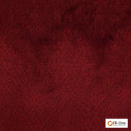 Fr One Fabrics - Gilda Fr Ruby  | Curtain & Upholstery fabric - Fire Retardant, Red, Synthetic, Commercial Use, Domestic Use, Jacquards, Oeko-Tex,  Standard Width