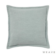 Weave - Austin Cushion - Seafoam (Pack of 2)  | Cushion Fabric - Blue, Plain, Weave