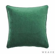 Weave - Zoe Cushion - Forest (Pack of 2)  | Cushion Fabric - Plain, Weave
