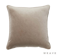 Weave - Zoe Cushion - Truffle (Pack of 2)  | Cushion Fabric - Beige, Plain, Weave