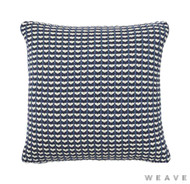 Weave - Sausalito Cushion - Pigment (Pack of 2)  | Cushion Fabric - Blue, Geometric, Multi-Coloured, Weave