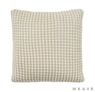 Weave - Sausalito Cushion - Sandstorm (Pack of 2)  | Cushion Fabric - Beige, Geometric, Weave