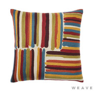 Weave - Masala Cushion - Sumac (Pack of 2)  | Cushion Fabric - Multi-Coloured, Weave