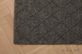 Weave uptown drapery and upholstery fabrics from the Mitre Rug design style range